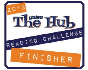 reading challenge logo - finisher