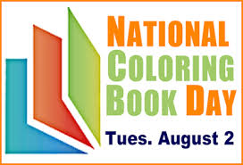 Happy National Coloring Book Day Booksandbassets